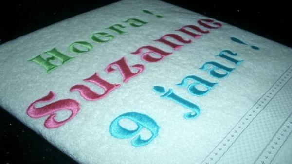 handdoek met naam kopen